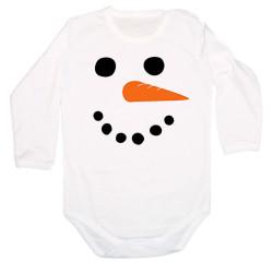 Бебешко боди Merry Christmas Snowman