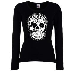 Дамска тениска Broken Skull 1