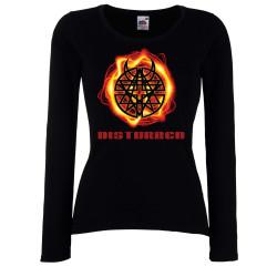 Дамска тениска Disturbed 3
