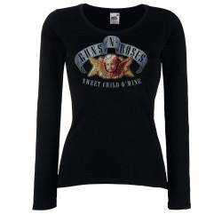 Дамска тениска Guns n Roses 5