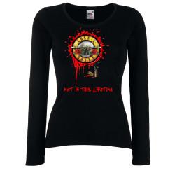 Дамска тениска Guns n Roses 8