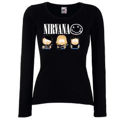 Дамска тениска Nirvana 1