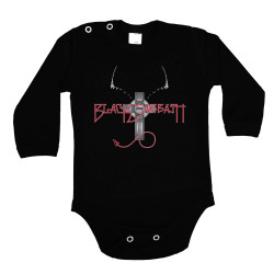 Бебешко боди Black Sabath 4