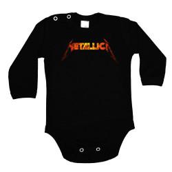 Бебешко боди Metallica 11