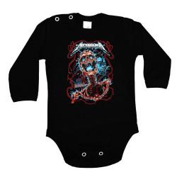 Бебешко боди Metallica 26
