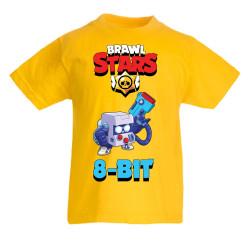 Детска тениска Brawl Stars 8-bit