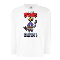 Детска тениска Darryl Brawl Stars