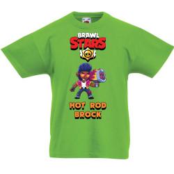 Детска тениска Hot Rod Brock Brawl Stars