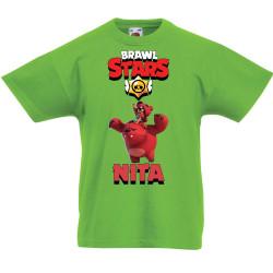 Детска тениска Nita 3 Brawl Stars