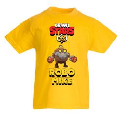 Детска тениска Robo Mike Brawl Stars