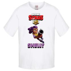 Детска тениска Shelly 3 Brawl Stars