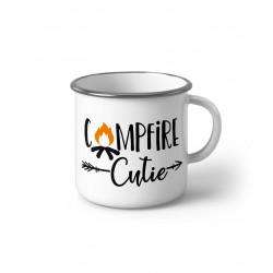 "Метално Емайлирано канче ""Campfire Cutie"""
