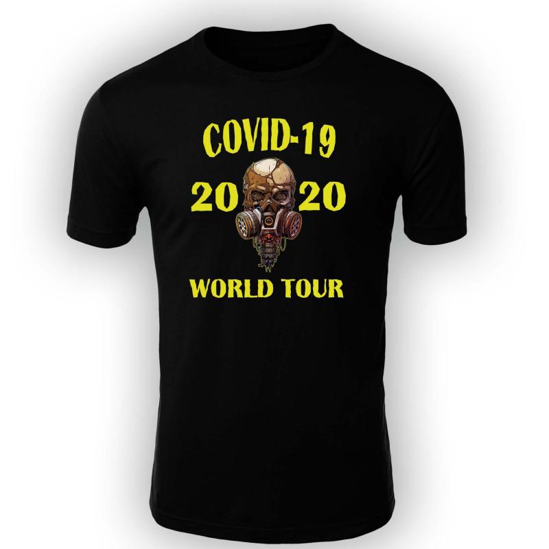Мъжка тениска Корона вирус corona virus COVID-19 001