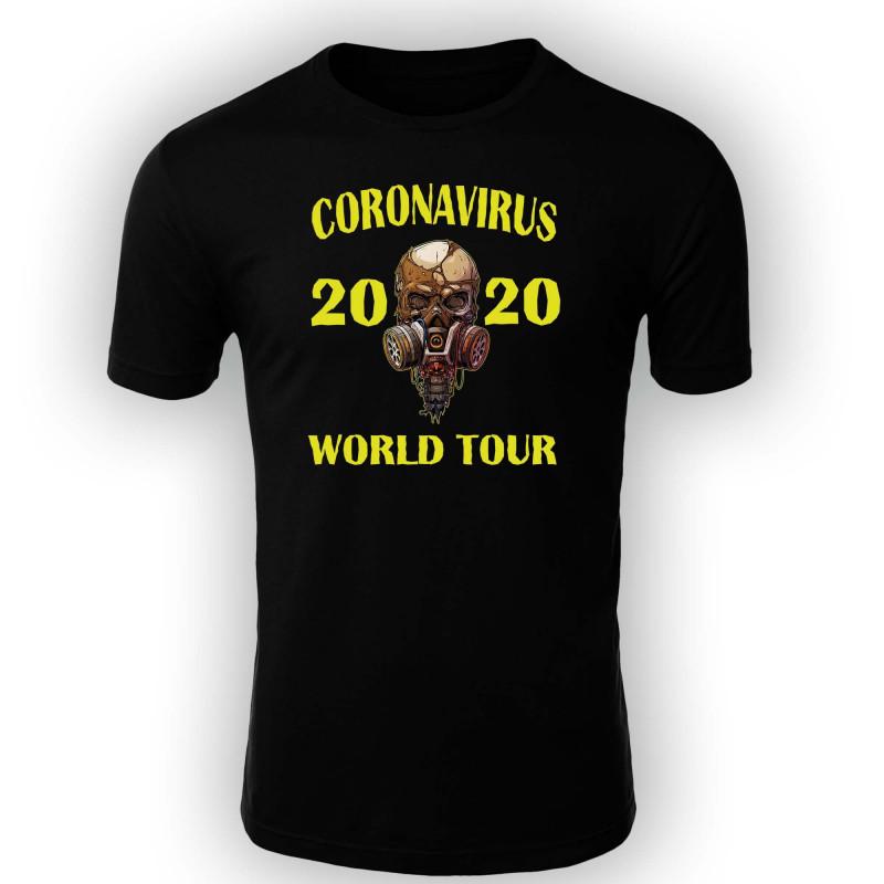 Мъжка тениска Корона вирус corona virus COVID-19 002