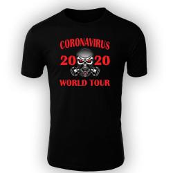Мъжка тениска Корона вирус corona virus COVID-19 006