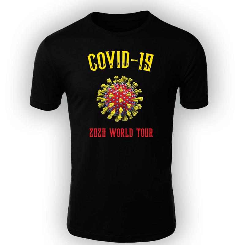 Мъжка тениска Корона вирус corona virus COVID-19 010