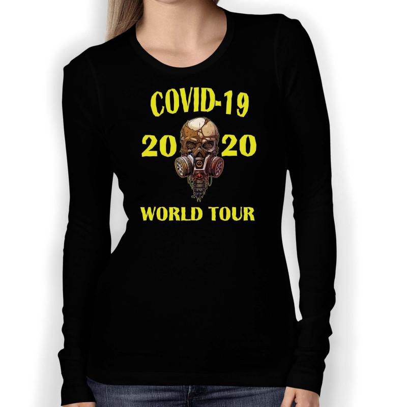 Дамска тениска Корона вирус corona virus COVID-1 001