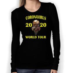 Дамска тениска Корона вирус corona virus COVID-1 002