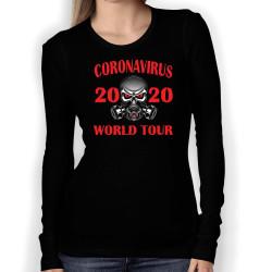 Дамска тениска Корона вирус corona virus COVID-19 006
