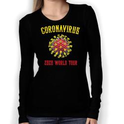 Дамска тениска Корона вирус corona virus COVID-19 009
