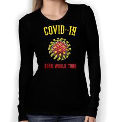Дамска тениска Корона вирус corona virus COVID-19 010