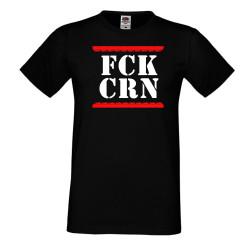 Мъжка тениска Корона вирус FCK CRN 012