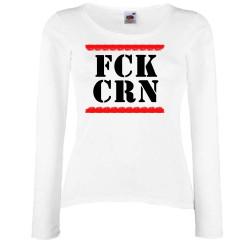 Дамска тениска Корона вирус FCK CRN 012