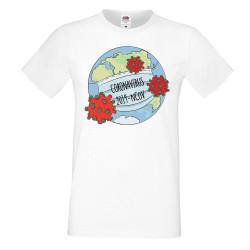 Мъжка тениска Корона вирус corona virus COVID-19 2019-NCOV