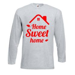 Мъжка тениска Корона вирус corona virus COVID-19 Home Sweet Home