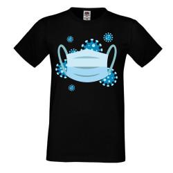Мъжка тениска Корона вирус corona virus COVID-19 Medical Mask