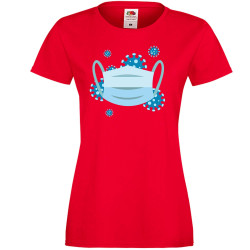Дамска тениска Корона вирус corona virus COVID-19 Medical Mask