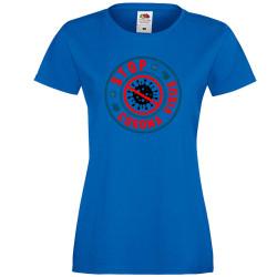 Дамска тениска Корона вирус corona virus COVID-19 Stop Corona