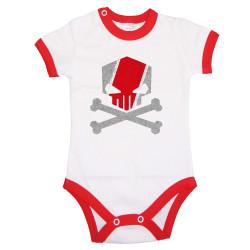 Бебешко боди AUDI Skull