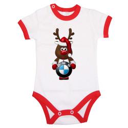 Бебешко боди BMW Christmas Reindeer
