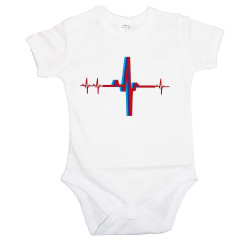 Бебешко боди BMW Heartbeat M Power