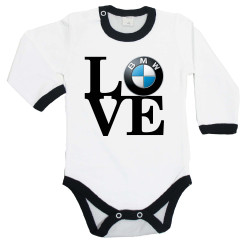 Бебешко боди BMW LOVE