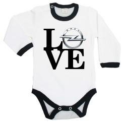 Бебешко боди OPEL LOVE