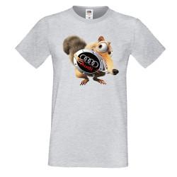 Мъжка тениска AUDI Scrat Ice Age