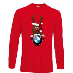 Мъжка тениска BMW Christmas Reindeer