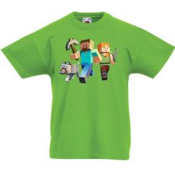 Детска тениска Minecraft 1
