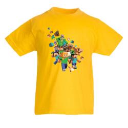Детска тениска Minecraft 3