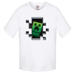 Детска тениска Minecraft Creeper