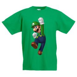 Детска тениска Super Mario Luigi