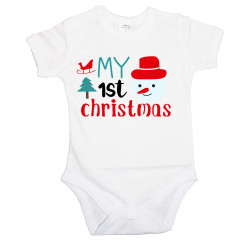 Бебешко боди Коледа My First Christmas 1