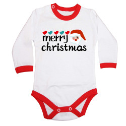 Бебешко боди Коледа Merry Christmas