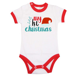 Бебешко боди Коледа My First Christmas 2