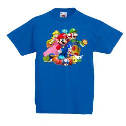 Детска тениска Super Mario 4