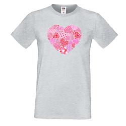 Мъжка тениска Свети Валентин Heart 1