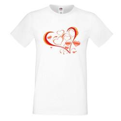 Мъжка тениска Свети Валентин Heart 2