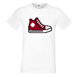 Мъжка тениска 8-bit shoe red